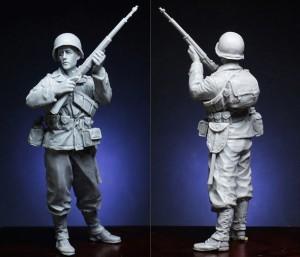 Рядовой 327-го пехотно-планерного полка