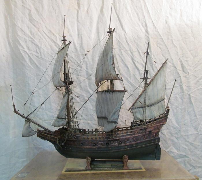 судно XVI—XVIII веков с