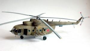 Вертолет Zvezda 1/72 «Ми — 8»