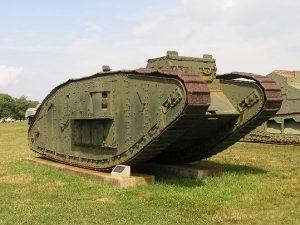 Тяжелые танки Mk II, Mk III, Mk IV
