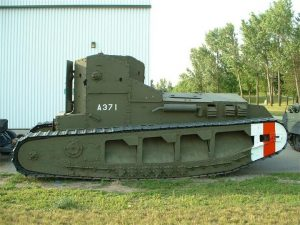 Средние танки Mk А Whippet, Mk В и Mk С